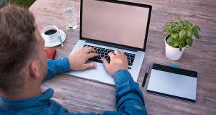 business man, laptop, work